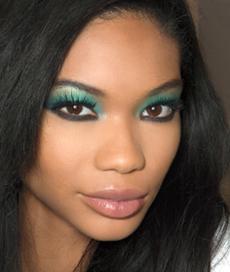 Новогодний макияж - Диско-девочка