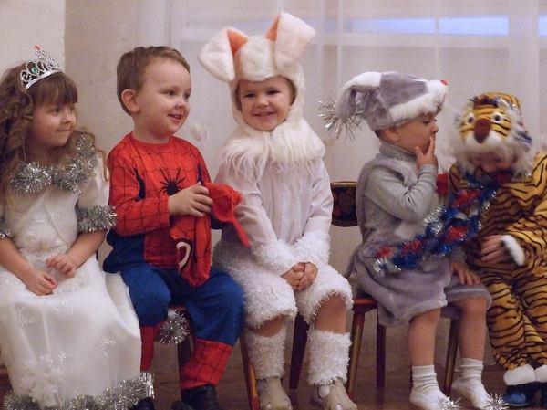 Детские новогодние утренники