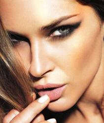 Новогодний макияж - Женщина-тигрица