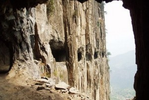 Guoliang Tunnel Road, Китай