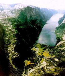 Lysebotn Road, Норвегия