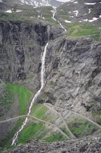 Дорога Trollstigen в Норвегии
