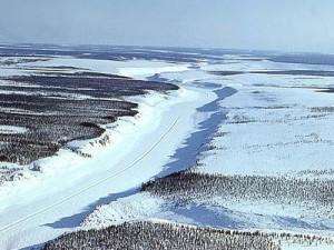 Федеральная автомобильная дорога М56 «Лена» зимой, Россия
