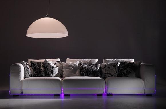 LED диван