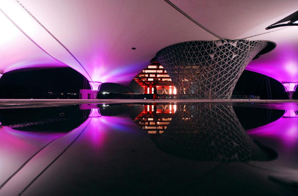 Солнечная долина и Китайский павильон на Всемирной выставке в Шанхае