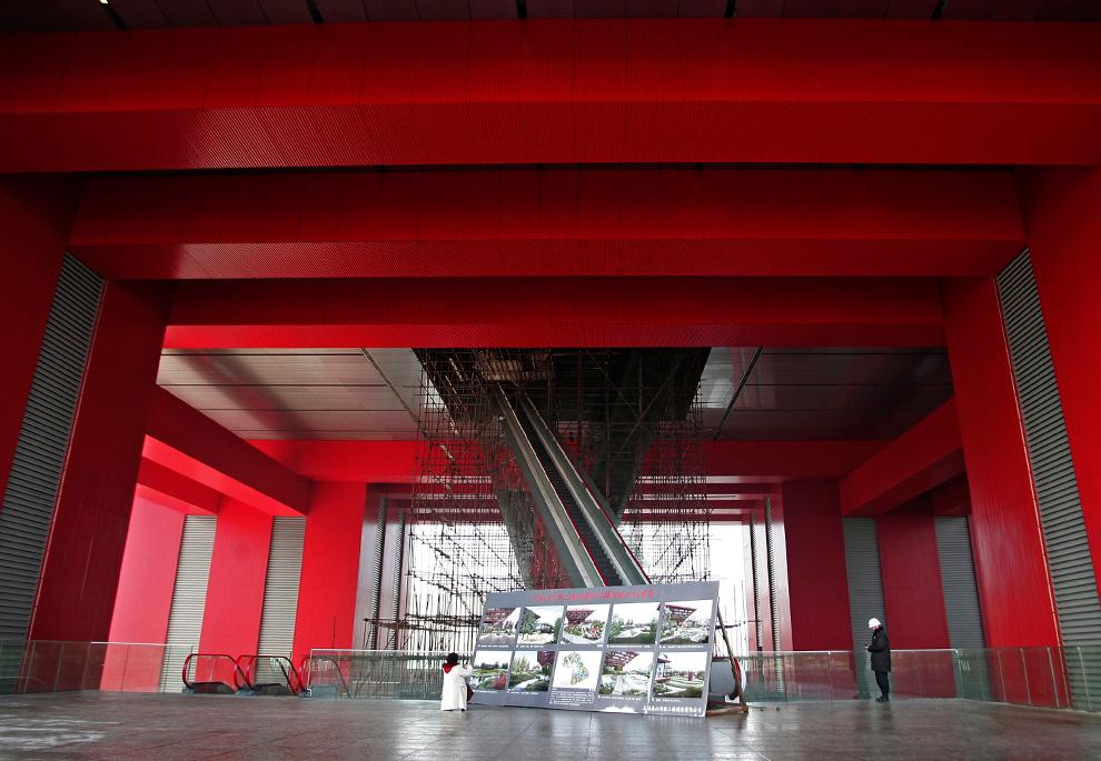Павильон Китая на Всемирной выставке в Шанхае