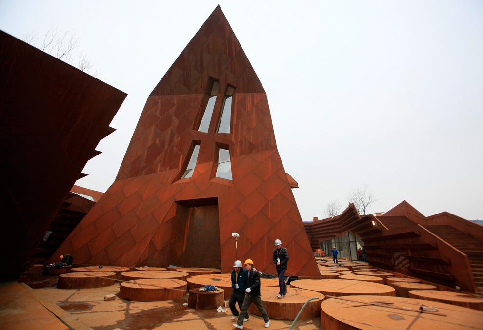 Павильон Люксембурга на Всемирной выставке в Шанхае