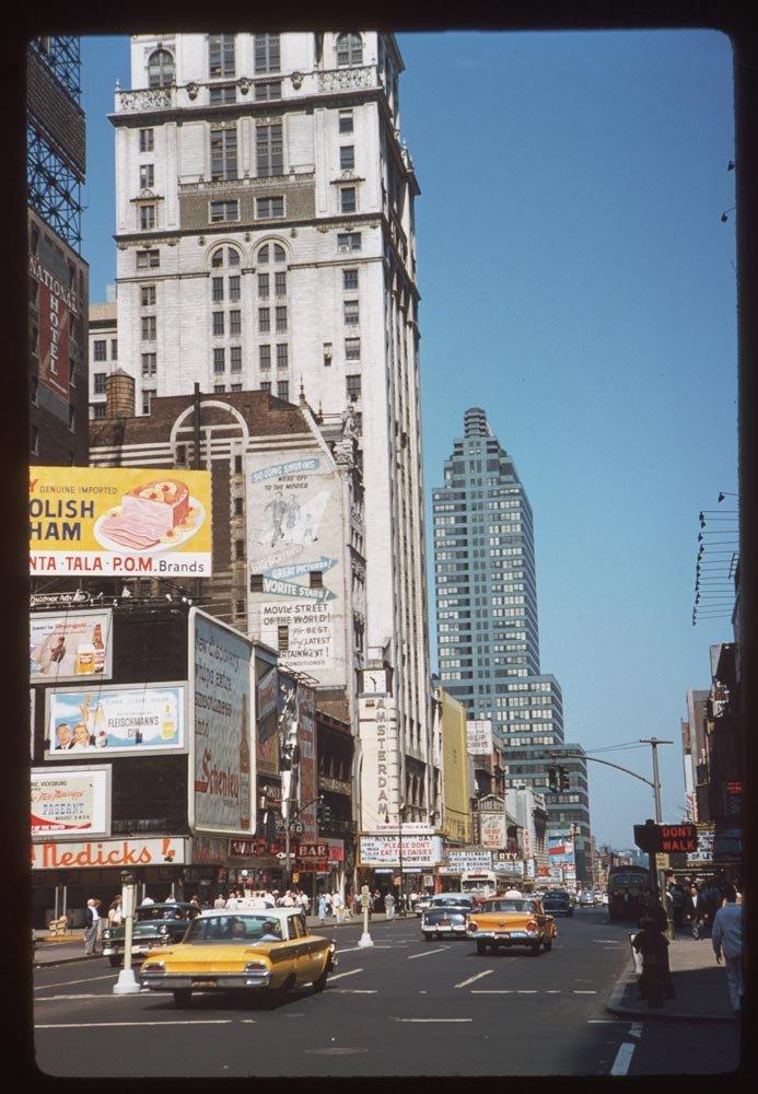 старый нью йорк: