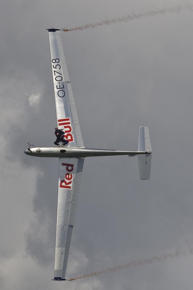 Скайдайвер Red Bull Sky Dive