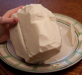 Стив Джобс из сыра маццарелла