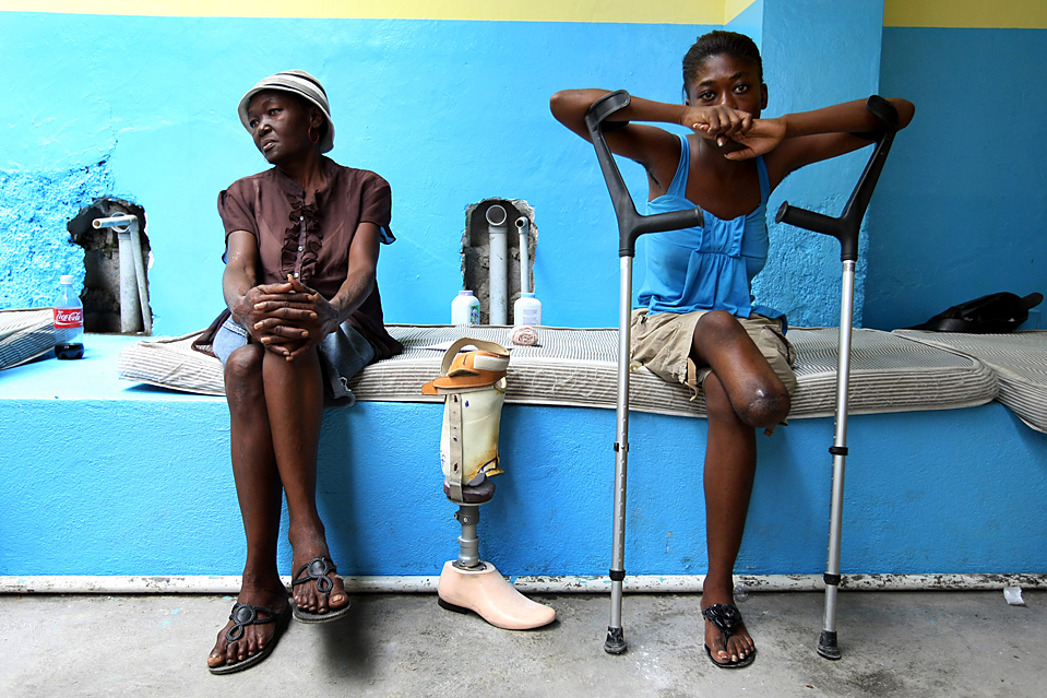 prosthetic availability in haiti Perspective from the new england journal of medicine — the earthquake in haiti — dispatch from port-au-prince and the availability prosthetic-valve.