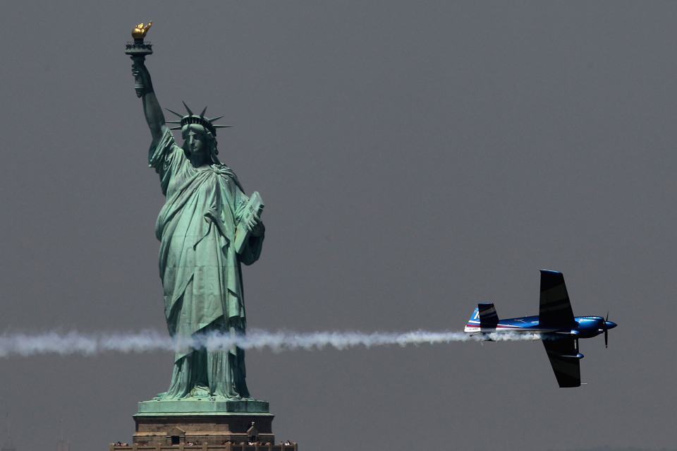 Red Bull Air Race в Нью Йорке