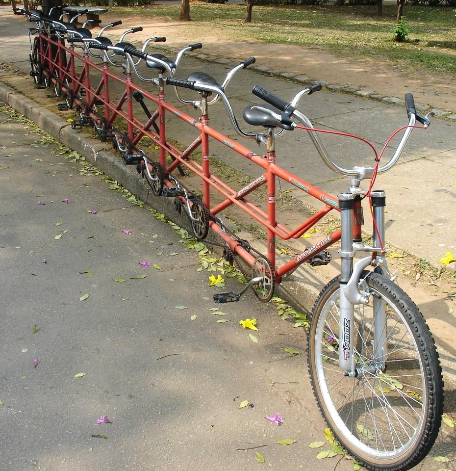 Велосипеды Тандем Фото