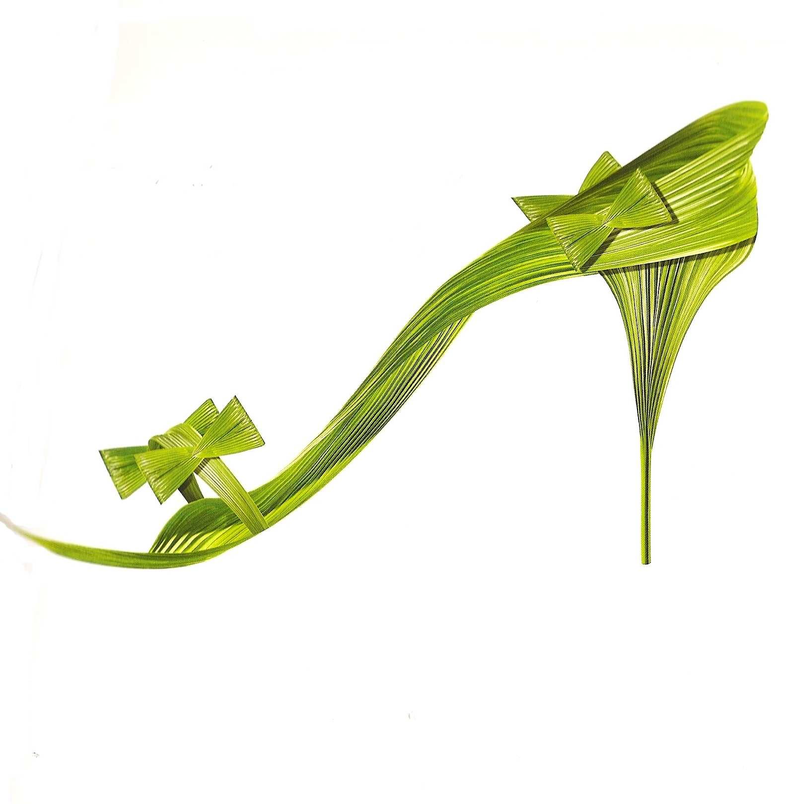 Туфельки из цветов фото