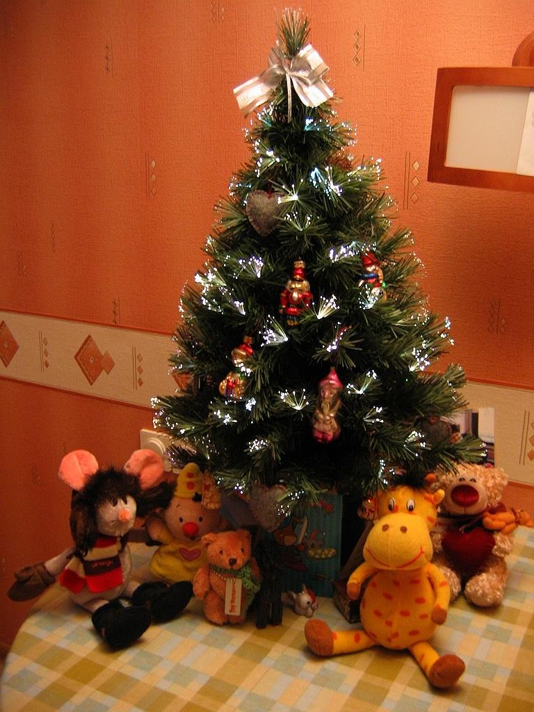 Как можно украсить ёлку на новый год