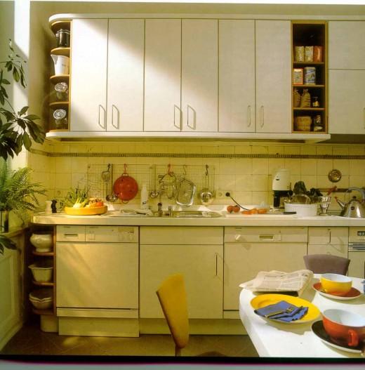 Уютная маленькая кухня фото 7