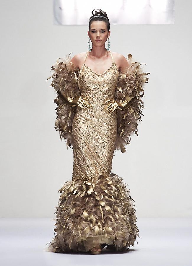 Платья золот