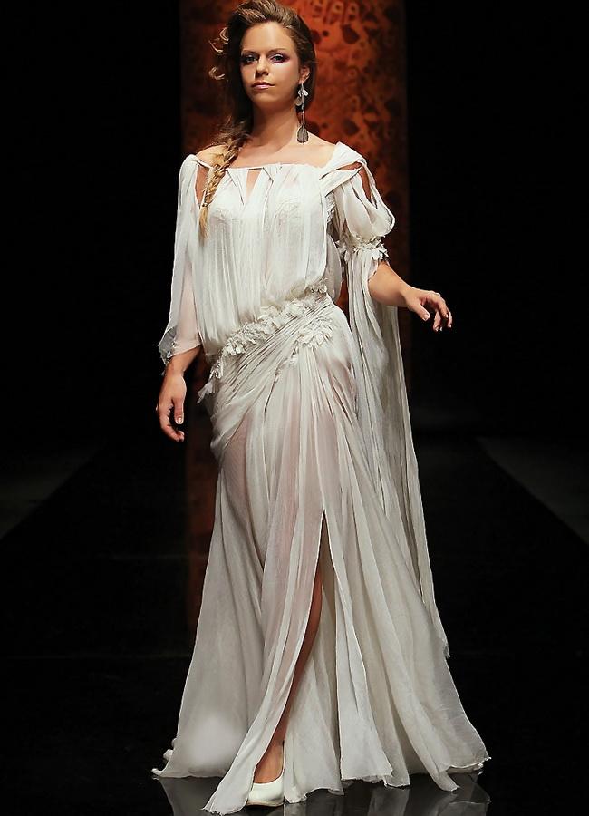 Белые вечерние платья (много фото