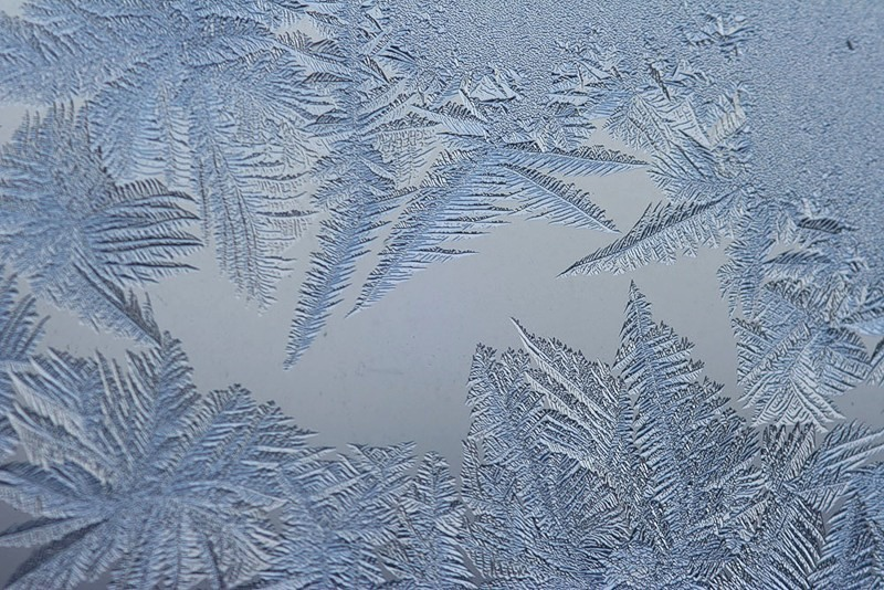 Морозные узоры на стекле. Обсуждение на LiveInternet ...