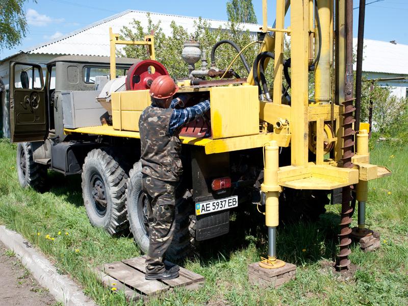 Бурение скважин под ключ Киев и Киевская обл Компания Акватория