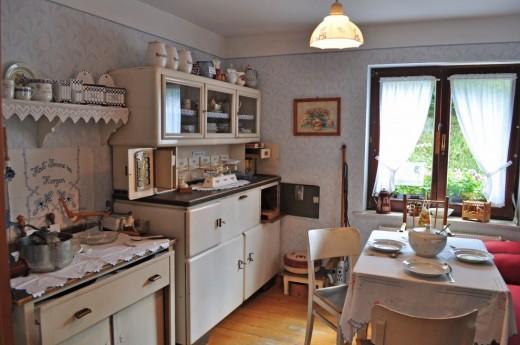 Как сделать кухню в деревне фото