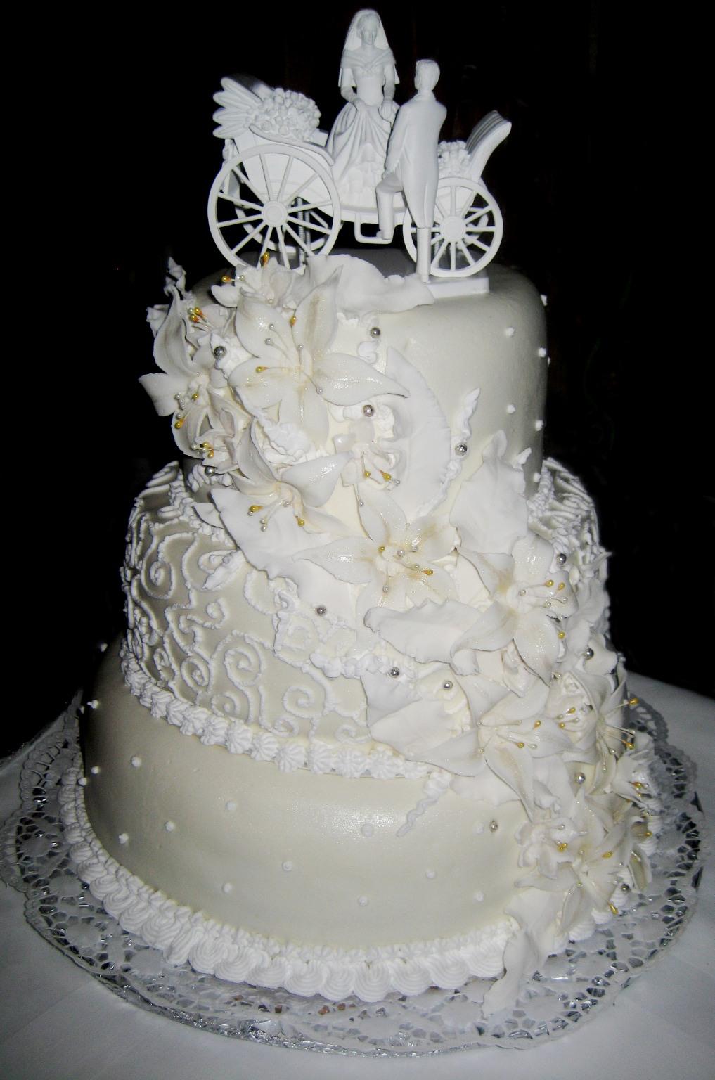Свадебный торт новый взгляд на старое