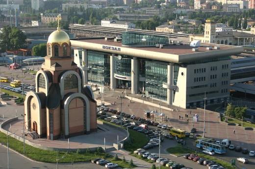 Город Киев и его обитатели