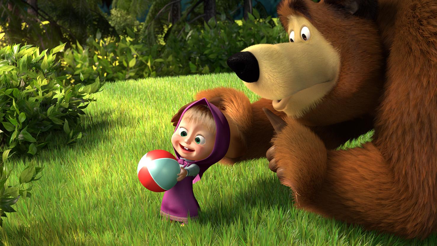 Новые мультфильмы — маша и медведь