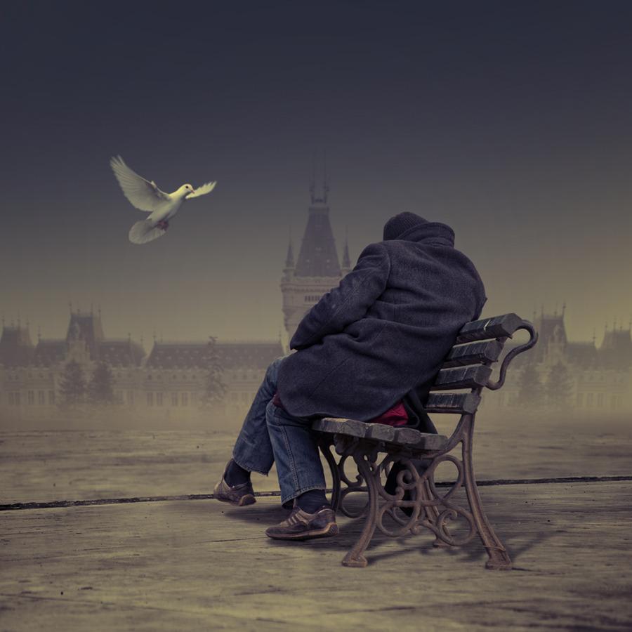 фото мужчин одиночество