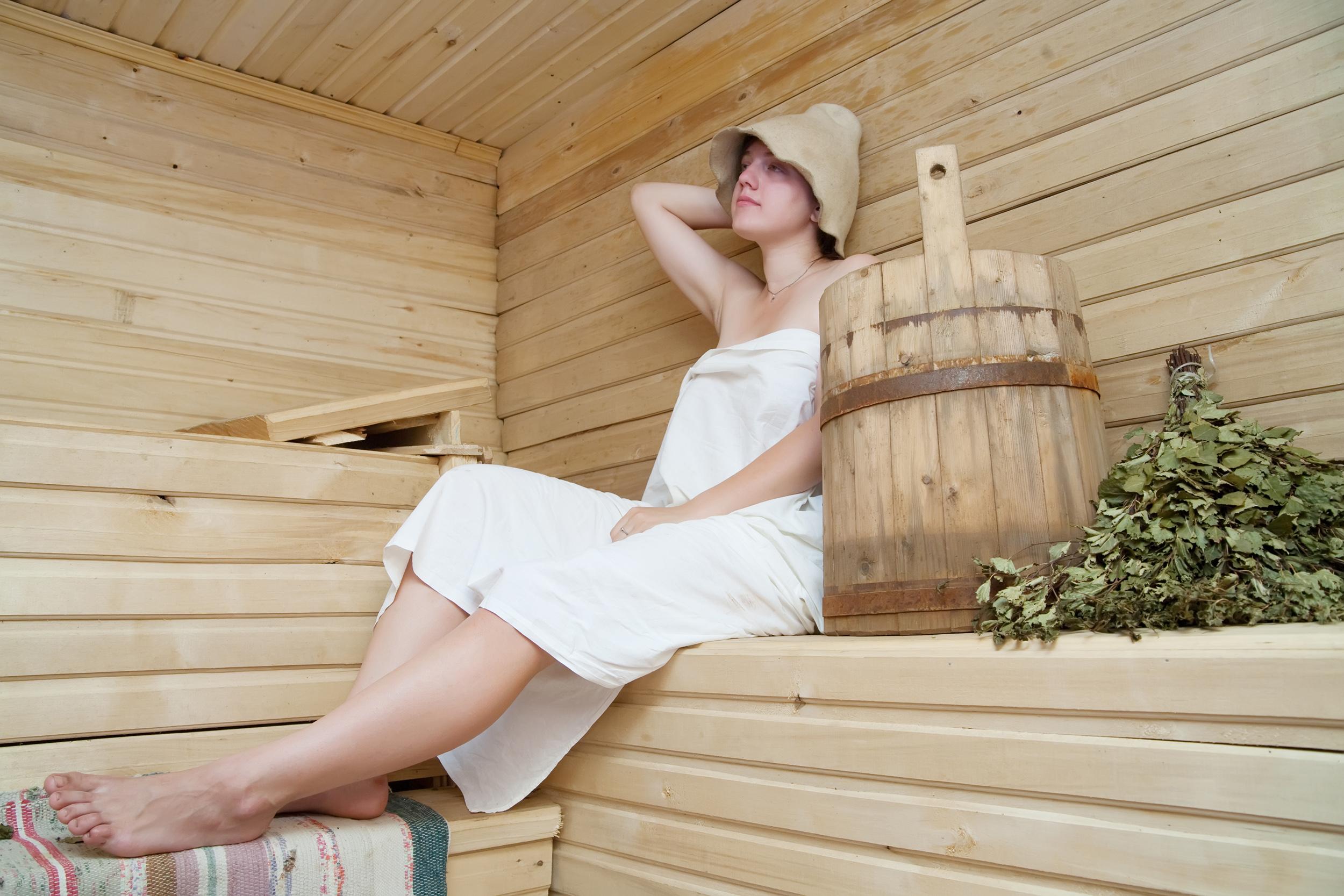 Русская баня девочки 17 фотография