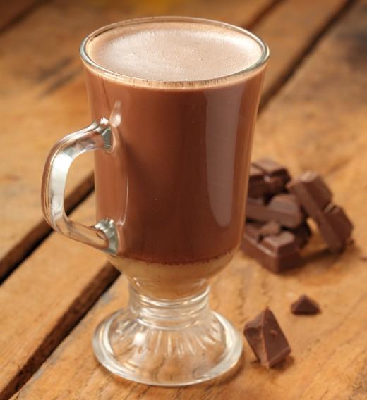 Горячий шоколад либо какао