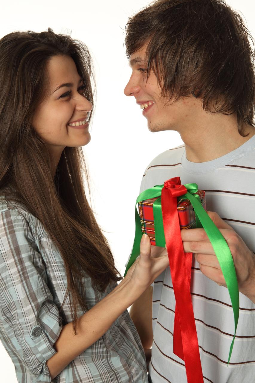 Подарок девушке которая нравится фото