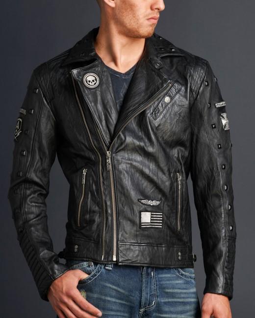 Купить Кожаную Куртку Мужскую Крутую