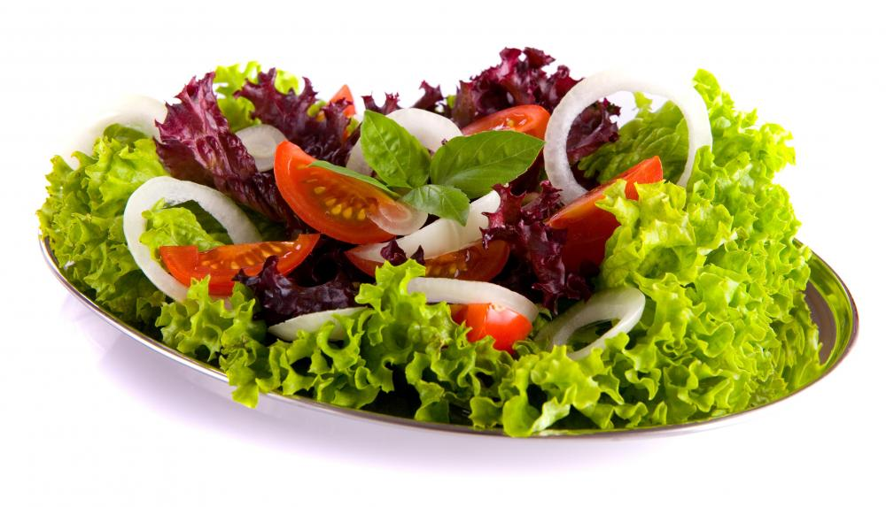 Для здоровья полезны овощные салаты и
