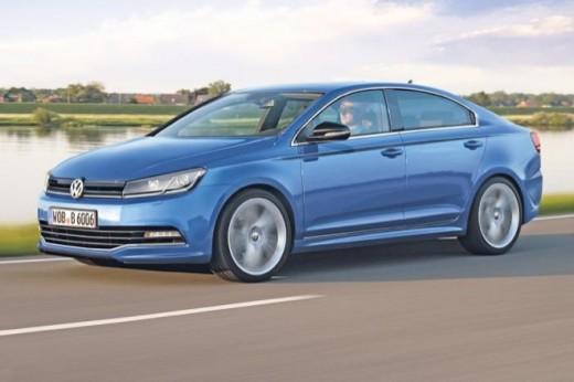 Volkswagen выпустит новую Golf СС в 2015 году