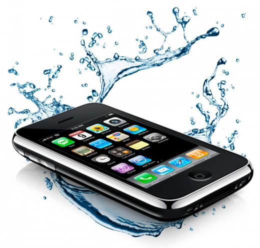 Как сделать телефон если он не включается после воды