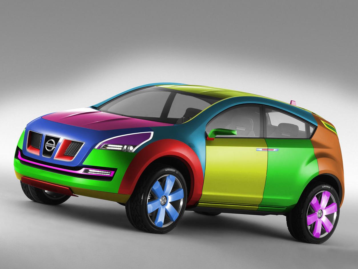Модные цвета автомобиля
