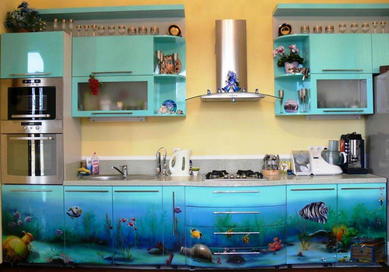 Маленькая кухня необычный дизайн
