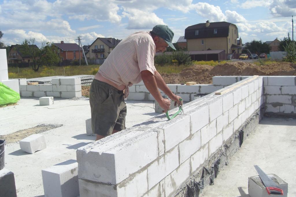 Газоблок строительство дома своими руками