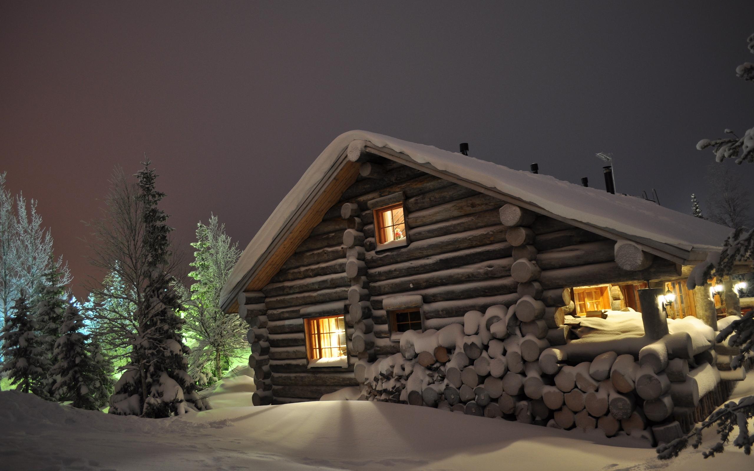 зимняя дача