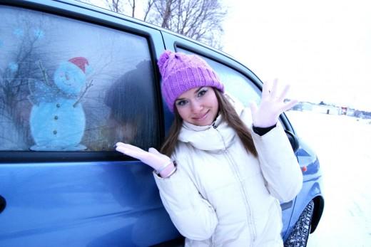 Что нужно знать девушке-водителю о зимней эксплуатации автомобиля