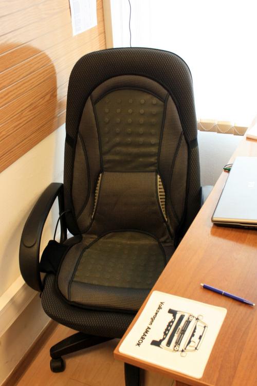 Накидки на компьютерное кресло своими руками