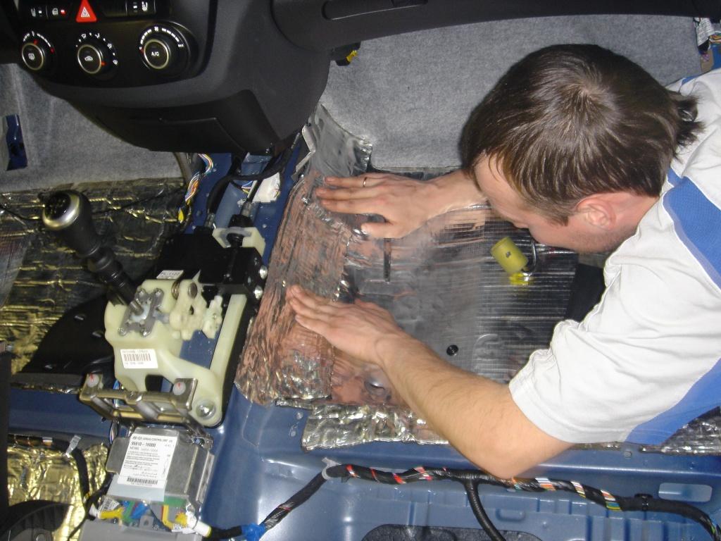Что такое шумоизоляция автомобиля?