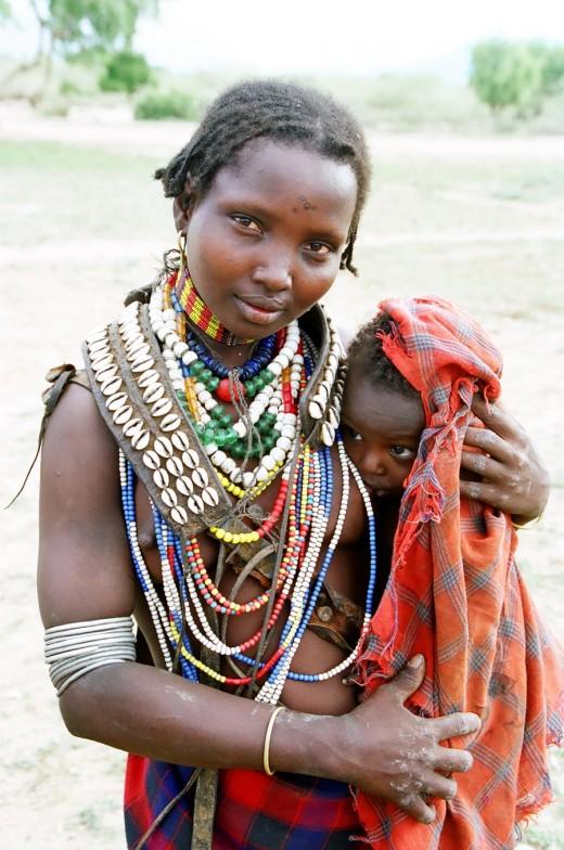 Ученые выяснили, из за чего потемнела кожа у жителей Африки