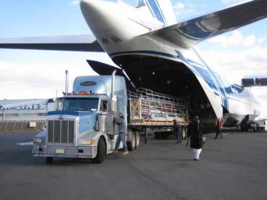 В каких случаях используется международная авиаперевозка?