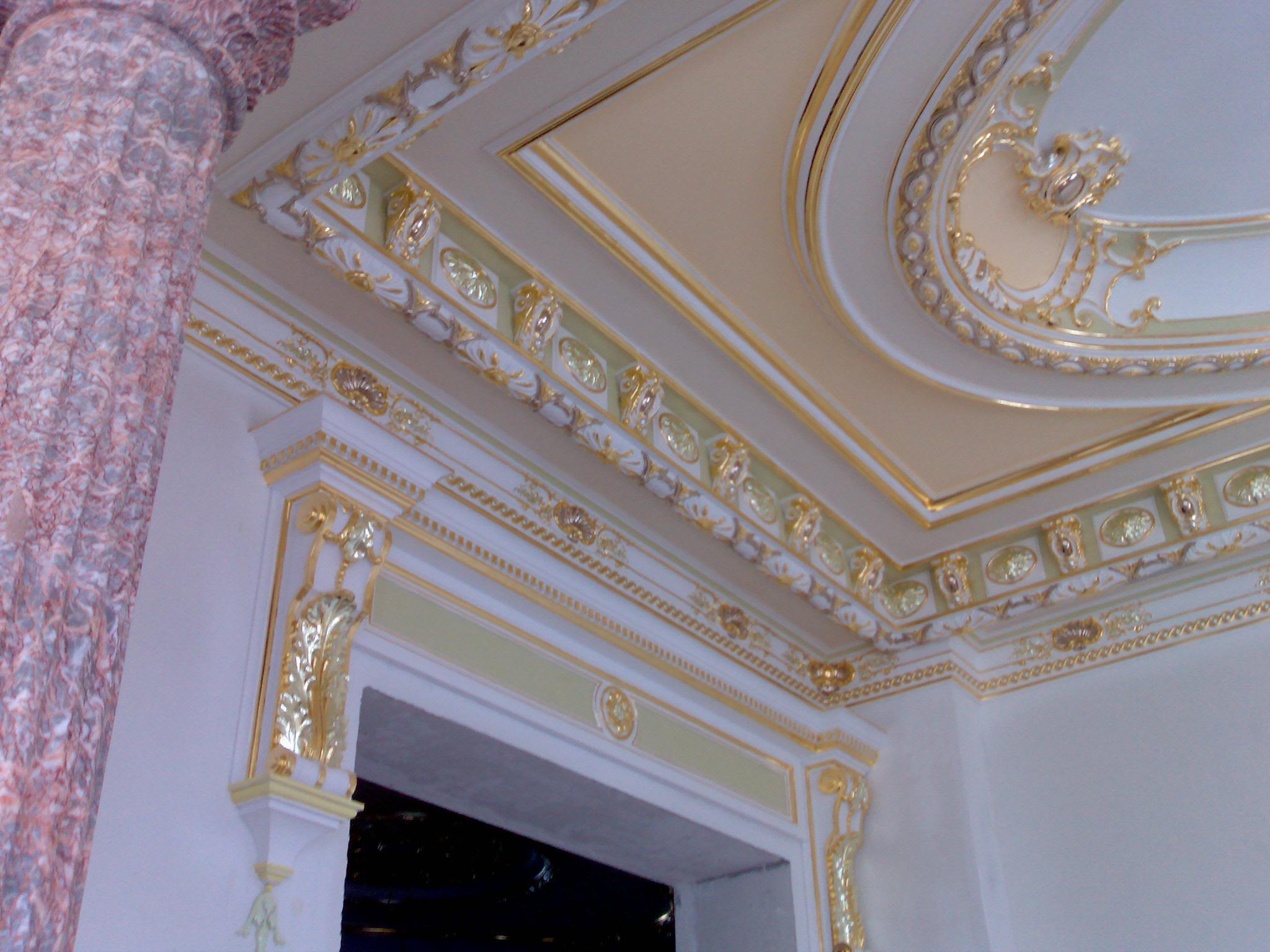 Дизайн гипса потолка