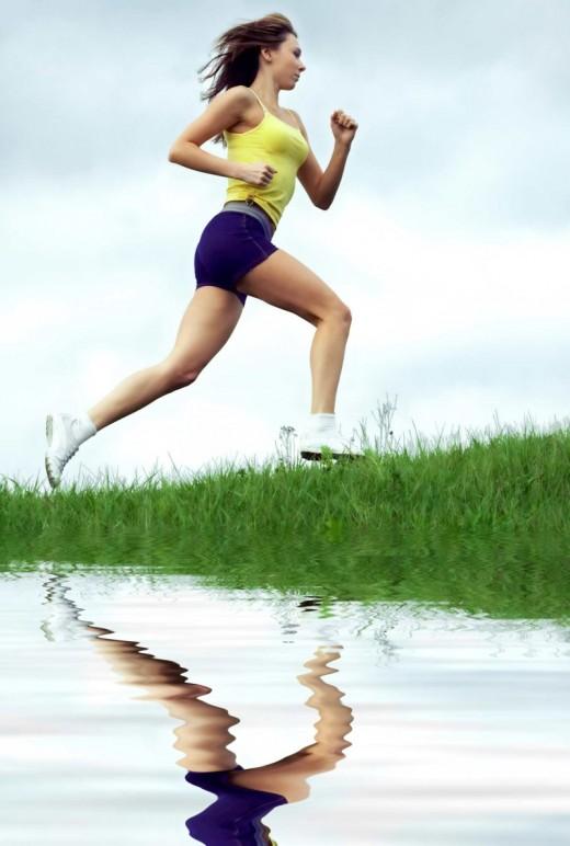 Помогает ли бег похудеть в ногах?