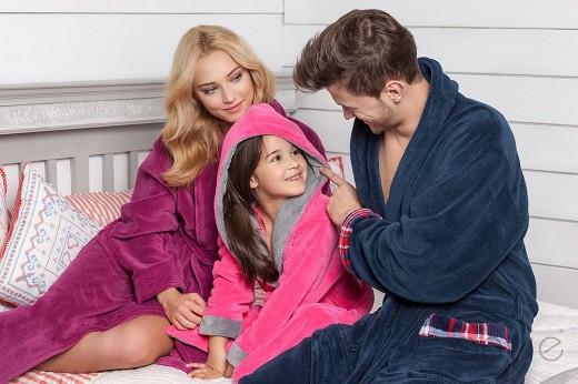 Махровые халаты для всей семьи