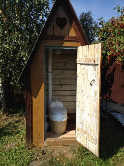 Цены на туалет на даче своими руками