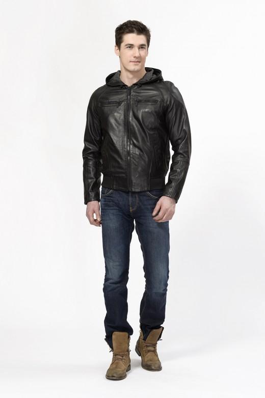 Кожаные куртки авиа